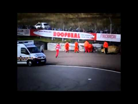 Website: www.ashleysuttonracing.co.uk - Facebook: www.facebook.com/AshleySuttonRacing - Twitter: @ASuttonRacing Ashley Sutton's crash from knockhill on Sunday 24th in Race 2. Impact speed...