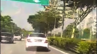 26aug2018 26aug2018 crazy merc driver SKH6535L on kje to pie
