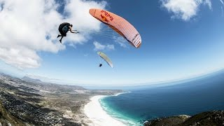 Extreme Freestyle Paragliding Tricks with Marvin Ogger