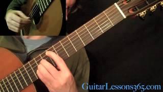 Recuerdos de la Alhambra Guitar Lesson Pt.1 - Francisco Tarrega - A Minor Section