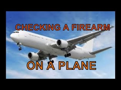 Checking a Firearm at the Airport: An Overview by The Big Olof