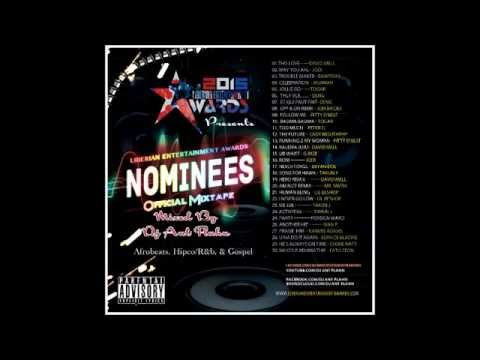 Liberian Entertainment Awards Nominees Official Mixtape