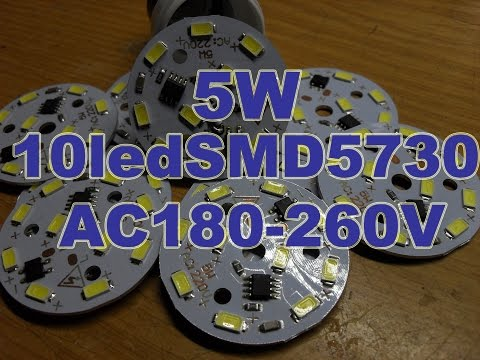 Драйвер светодиода 5w 76 в