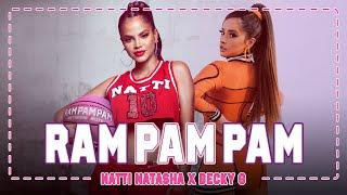 Download lagu Natti Natasha x Becky G - Ram Pam Pam [ Video]