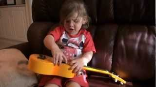 Farajaka sung by two year old Isabella