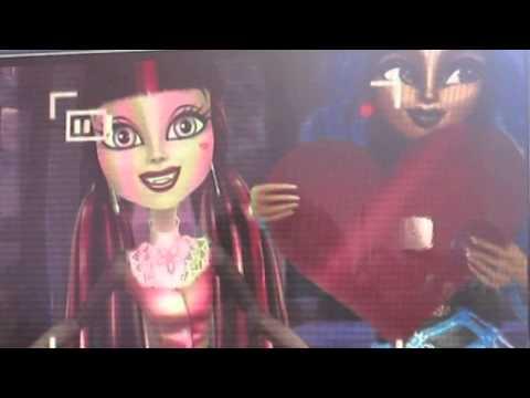 Monster high trailer susto,camara,accion en español