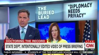 Tapper lays out 3 lies by State Department over video deletion: