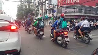Lý Thường Kiệt,Saigon, VN,Tết Ông Táo,chiều Feb.8. 2018