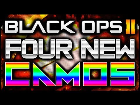 Black Ops 2 | 4 NEW Camos: Comic Book, Cyborg, Dragon & Paladin! (Vote for Your Favorite BO2 Camo)