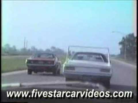 1970 Superbird & 1972 Cuda Racing On Interstate 75