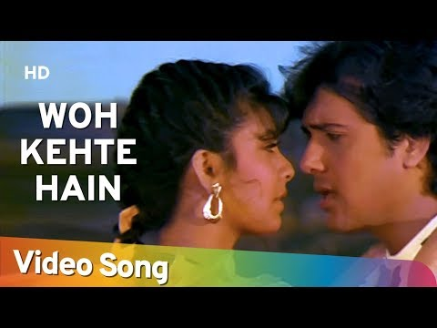 Woh Kehte Hai Humse - Govinda - Kimi Katkar - Dariya Dil - Old Hindi Songs - Nitin Mukesh