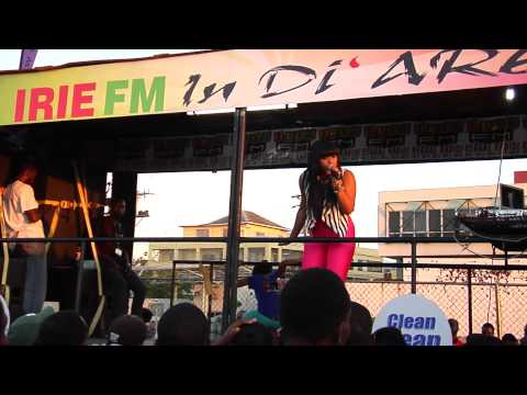 ISHAWNA - IRIE FM ROAD SHOW (Falmouth, Montego Bay)...... DSR DOWNSOUND UNDERGROUND