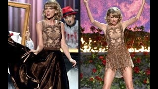 Taylor Swift - outfit change while Performing