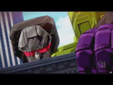 Transformers Devastation-E3 Trailer