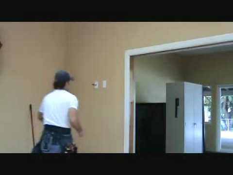 How to remove door casing trim without damaging the for Adjoining wall