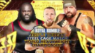 WWE Royal Rumble 2012 Full Match Card HD