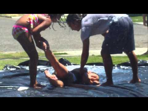 Girl dies on slip and slide!