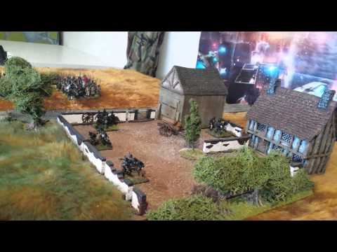 Blackpowder Rules/ fighting from buildings basics.