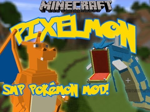 Minecraft - Pixelmon Mod Spotlight | Catch, Level &amp; Fight Your Own Pokmon!