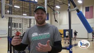 """""""Absolutely the Best Volleyball Training System out there!"""" Alex, Wisconsin Premier Volleyball Club"""