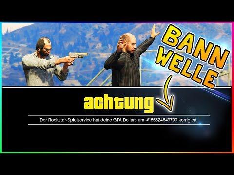 ACHTUNG BANNWELLE! ROCKSTAR ZIEHT EUCH MILLIONEN $ AB! | GTA 5 Online Bannwelle