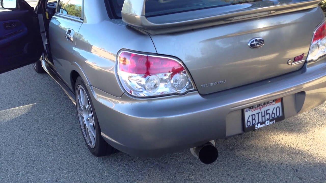 2007 Subaru Impreza Wrx Sti M2 Performance 3 Quot Exhaust