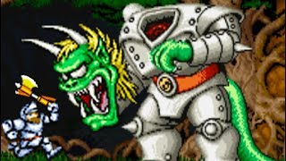 Ghouls 'n Ghosts (Arcade) All Bosses (No Damage)
