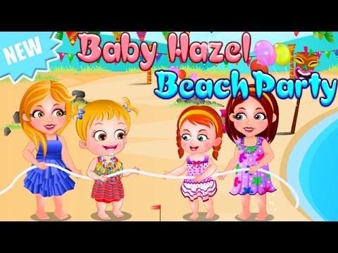 Baby Hazel Game Movie - Baby Hazel Beach Party - Dora The Explorer