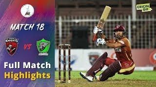 APLT20 2018 M18: Paktia Panthers v Kandahar Knights Full Highlights - Afghanistan Premier League T20