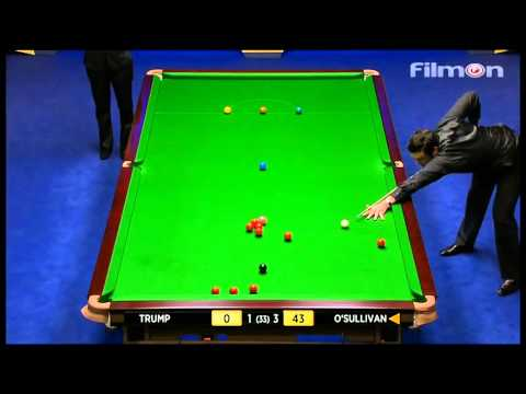 Ronnie O'Sullivan vs Judd Trump - WSC 2013 Semifinal First session