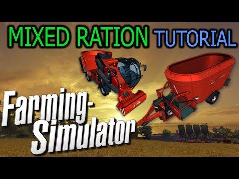 Farming Simulator - Mixed Ration Tutorial