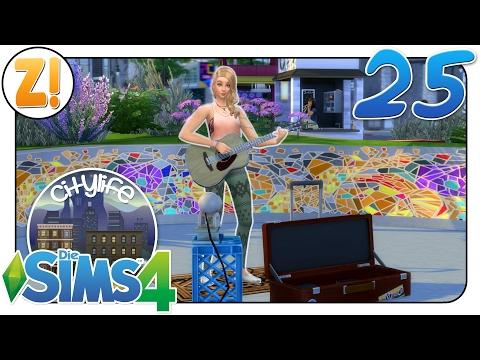 Sims 4 [Citylife Challenge]: Straßenmusik #25 | Let's Play [DEUTSCH]