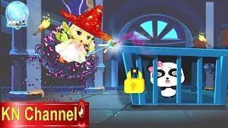 Trò chơi KN Channel BÉ TẬP LÀM PHÙ THỦY | BÚP BÊ GIẢI CỨU GẤU CON TRONG LÂU ĐÀI HẮC ÁM TẬP 1