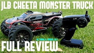 JLB CHEETAH RC BRUSHLESS MONSTER TRUCK REVIEW - Affordable Super Fast Wheelie Monster!