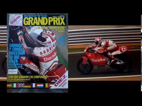 Joan Garriga. Motociclismo. Mundial 500 cc 1990 1991 1992