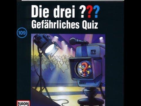 Die Drei Fragezeichen Gefährliches Quiz | Hörspiel 109
