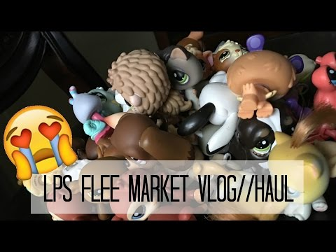 Lps Flea Market Vlog/Haul