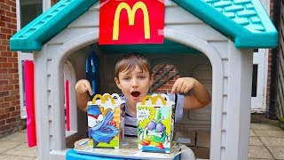 Superzings McDonald's Happy Meal Pretend Play Drive Thru