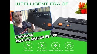 Unboxing Vacuum Sealer SX 100