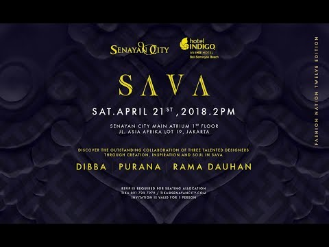 "Hotel Indigo Bali presents ""SAVA"" – A Fashion Show inspired by SAVA SPA at Fashion Nation 2018"