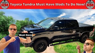Toyota Tundra must have mods Do these now!!