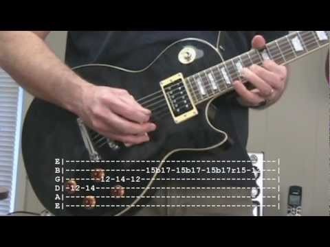 Play That Funky Music Guitar Solo with Tab