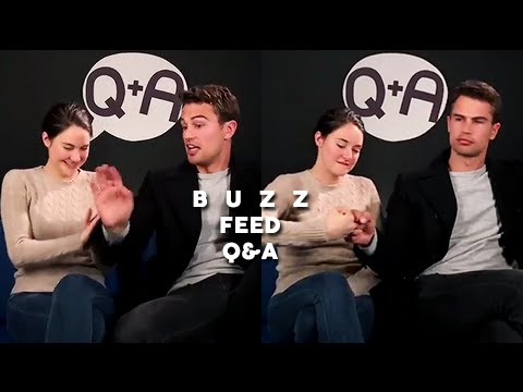 Shailene Woodley & Theo James - Buzz Feed Q&A (March 14, 2016)