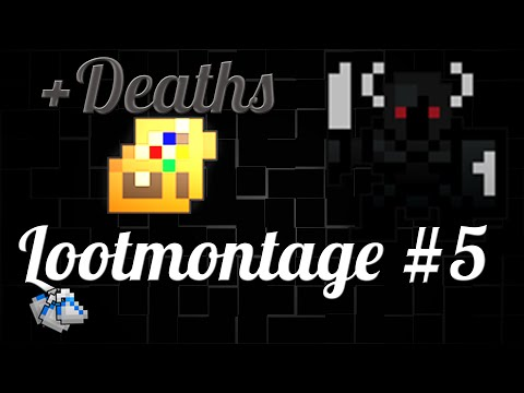 RotMG | Tops + Deaths | Loot Montage #5 (+Deaths) | ThaGold [HD]