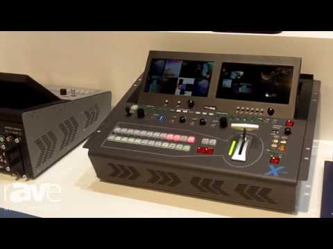 InfoComm 2016: RGBlink Launches X3 Live Integrated Vision Mixer