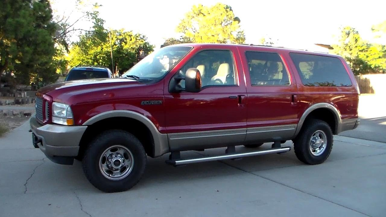 2004 Ford Excursion Eddie Bauer Review + Engine Start-Up ...