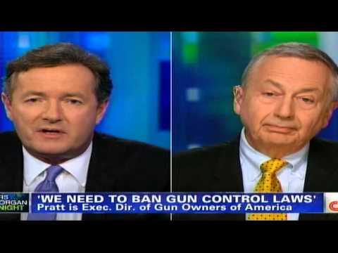 Piers Morgan resorts to name calling after losing Gun Control debate !!! thumbnail