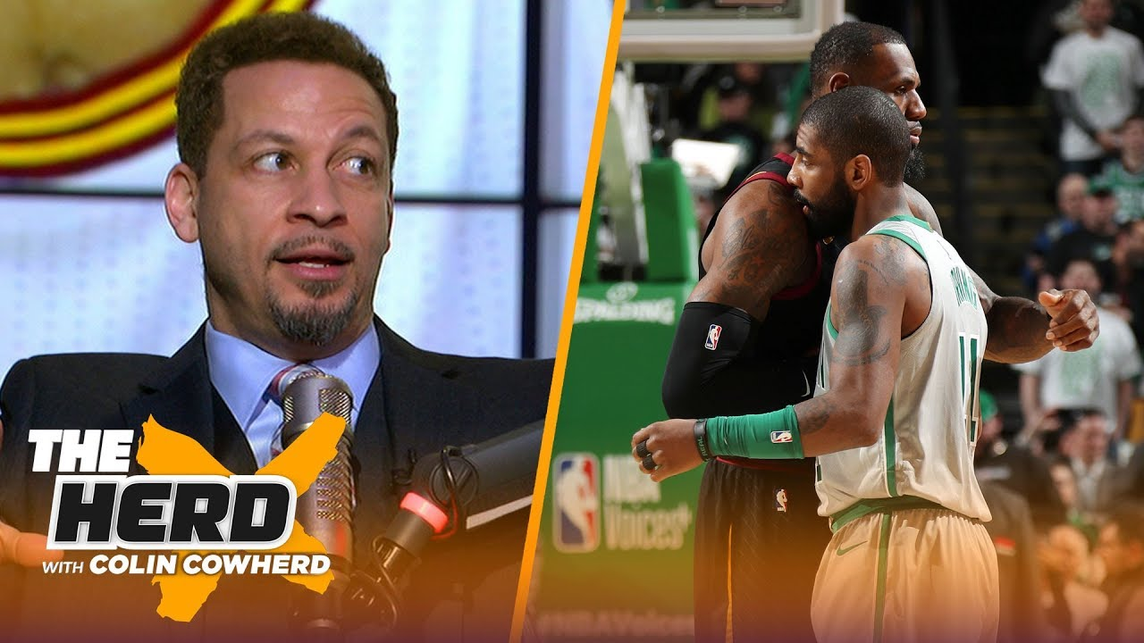 Chris Broussard doesn't rule out a Kyrie-LeBron reunion, talks NBA leadership void | NBA | THE HERD