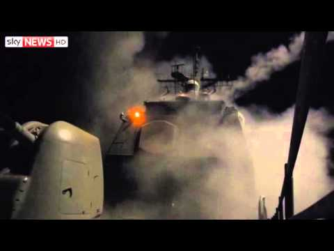 US Navy Launches Syria Missile Strikes