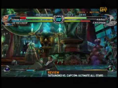x-play review of  Tatsunoko vs. Capcom: Ultimate All Stars